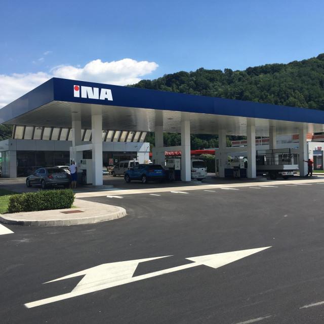 Nova benzinska stanica INA